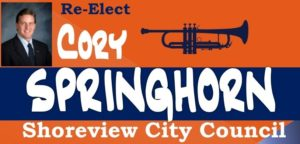 Cory Springhorn for Shoreview City Council